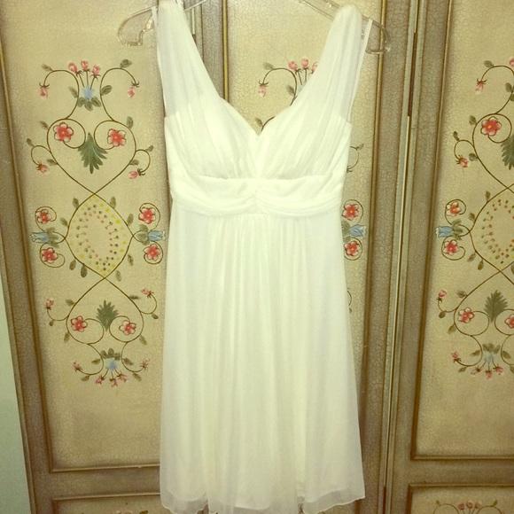 d7c666f33972 jcpenney Dresses   White Evening Dress   Poshmark